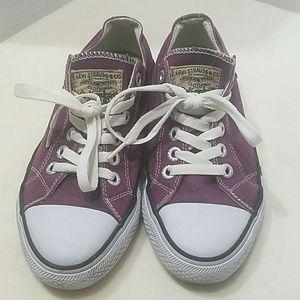 Levi's Purple Shoes